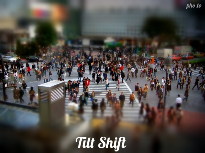 Photo with Tilt Shift effect by Pho.to