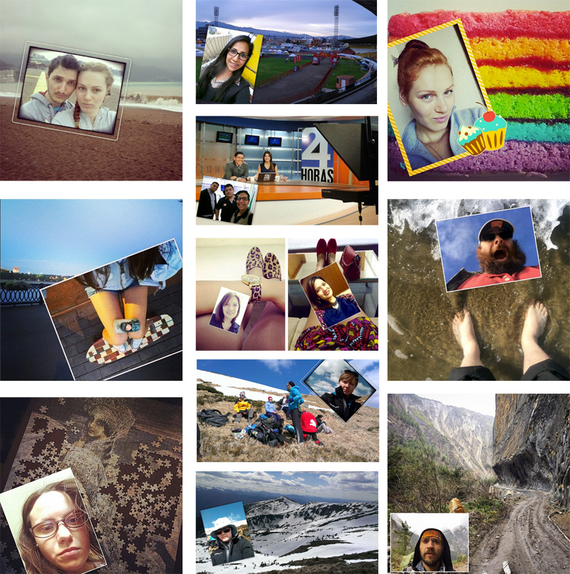 Best phoTWO selfies taken by Instagram users