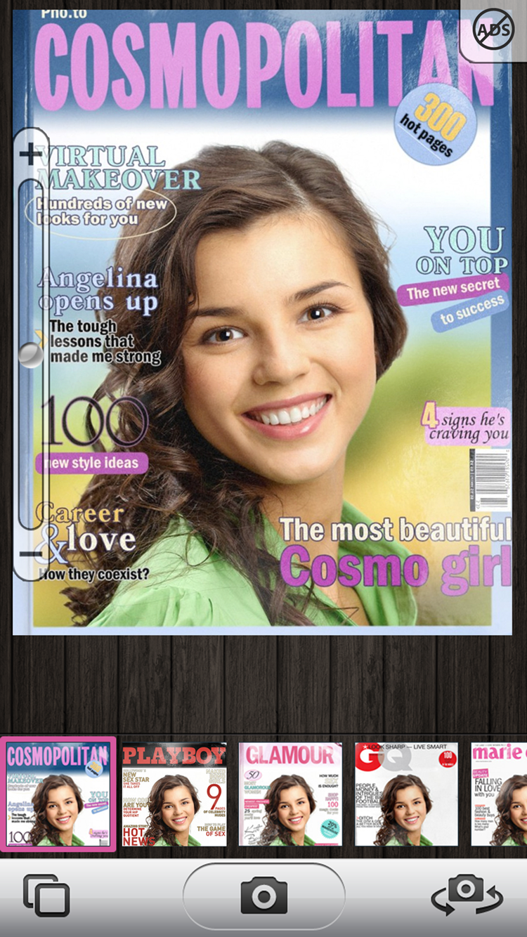 Get on teh cover of a popular magazine in a click!