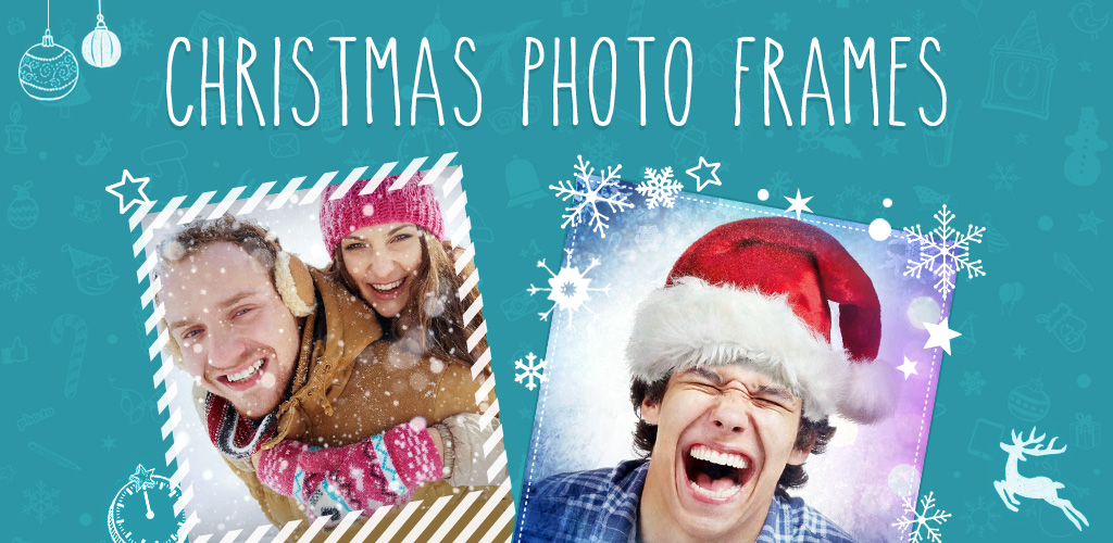 Christmas Photo Frames Android app promo image
