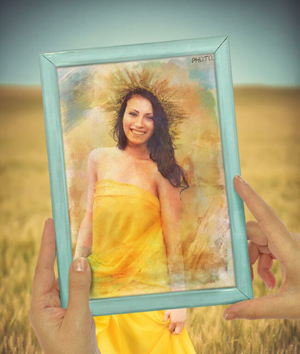 Watercolor part of your photo to transform a pic into an artistic image