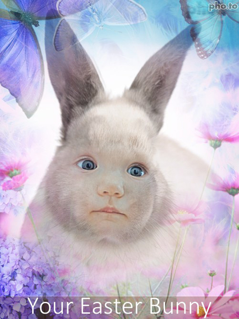 Turn yourself into an Easter rabbit