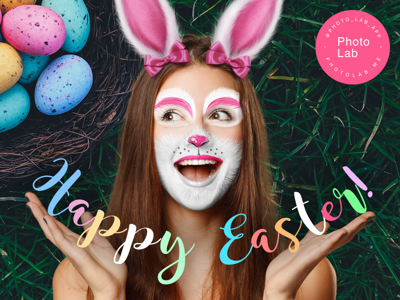 Have a very joyful Easter with Photo Lab!