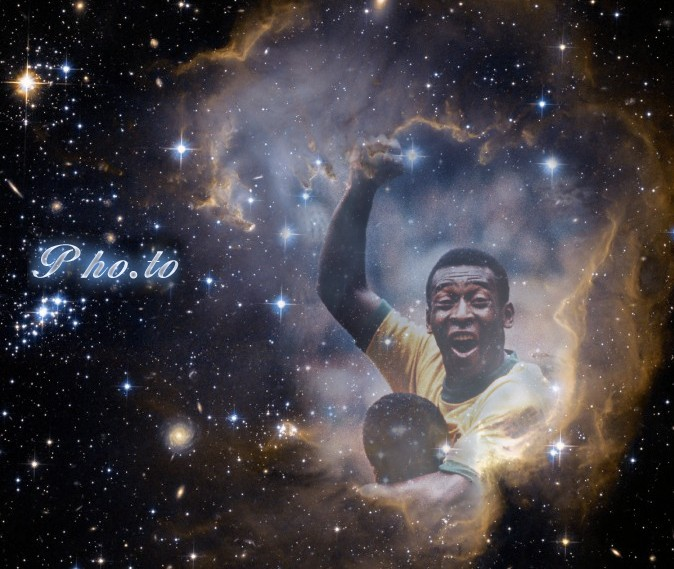 The king of football Pele