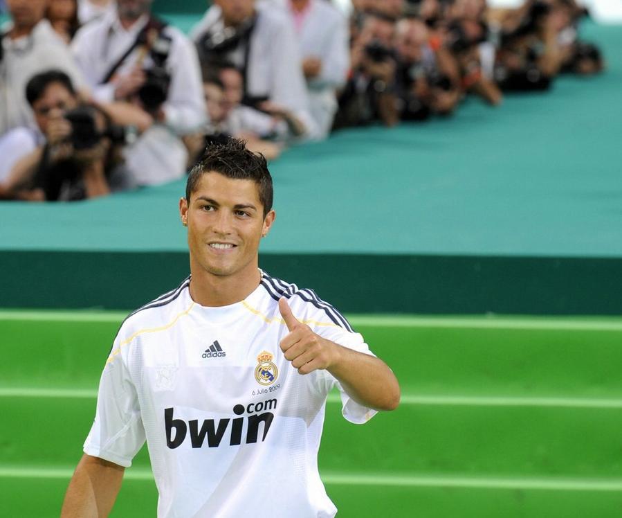 Famous Ronaldo de Lima at match