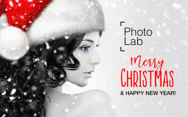 Photo Lab is wishing your Merry Christmas and Happy New Year!