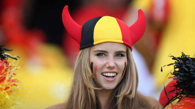 Photo of Axelle Despiegelaere from FIFA World Cup2014 who got a contract with Loreal
