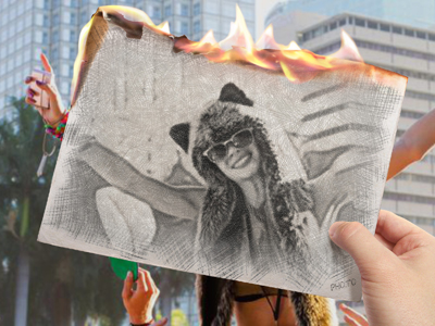 Spice your photos with new artistic effect that will turn it into a blazing sketch.