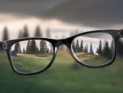 Make unusual photo montage with View through the Rayban Glasses photo montage