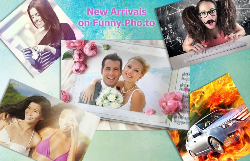 New photo effects, filters, frames and collages on Funny.Pho.to