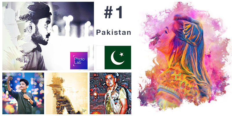 #1 in Top overall in Pakistan