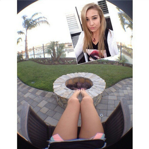 How fish-eye lenses for smartphones change the image