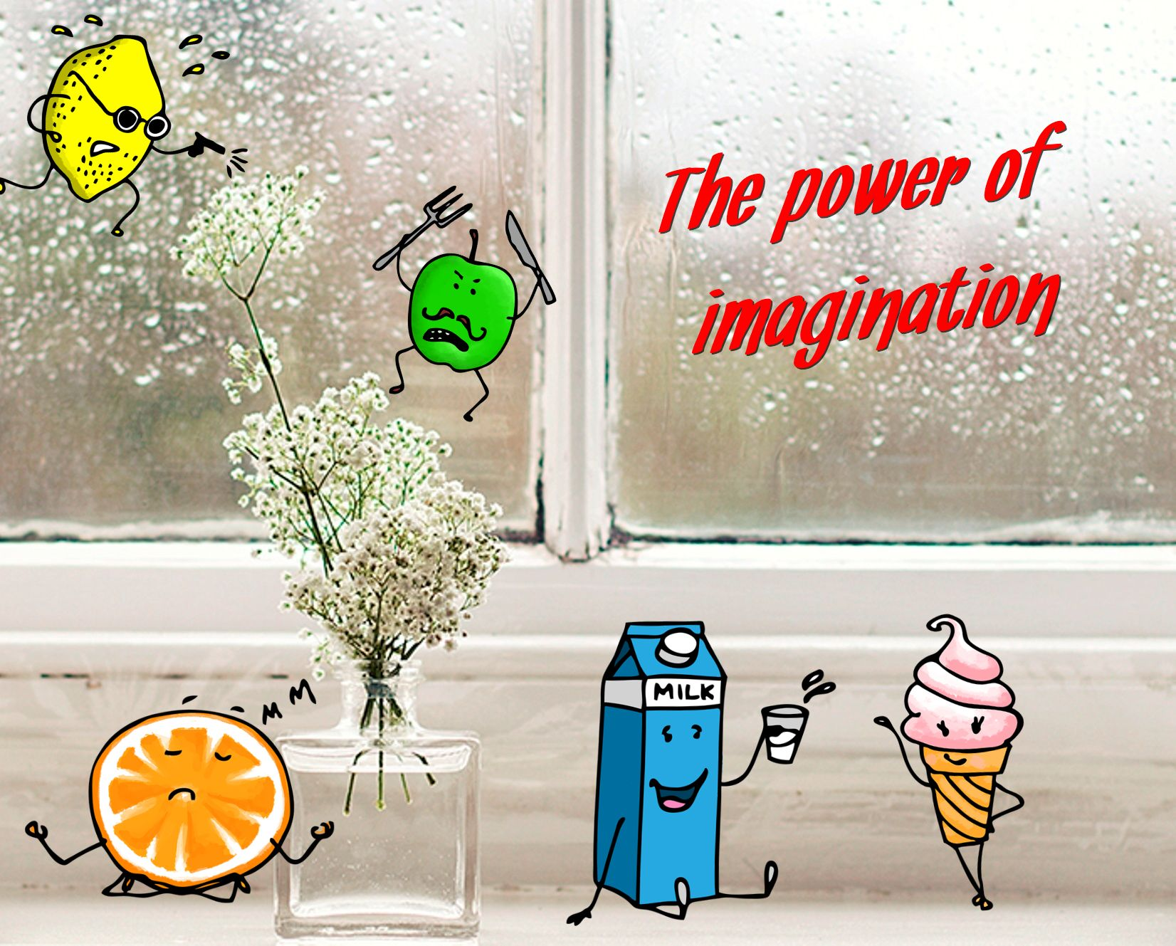 Reveal the power of your imagination with free online photo editor packed with fancy stickers