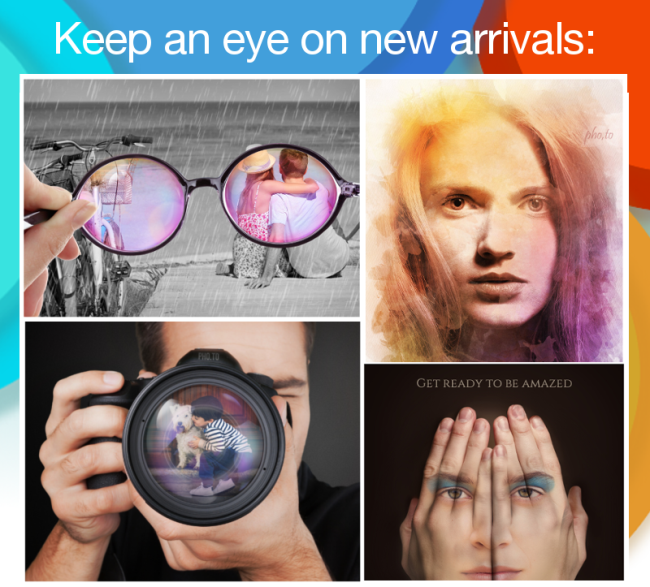 New arrivals in Photo Lab for Android