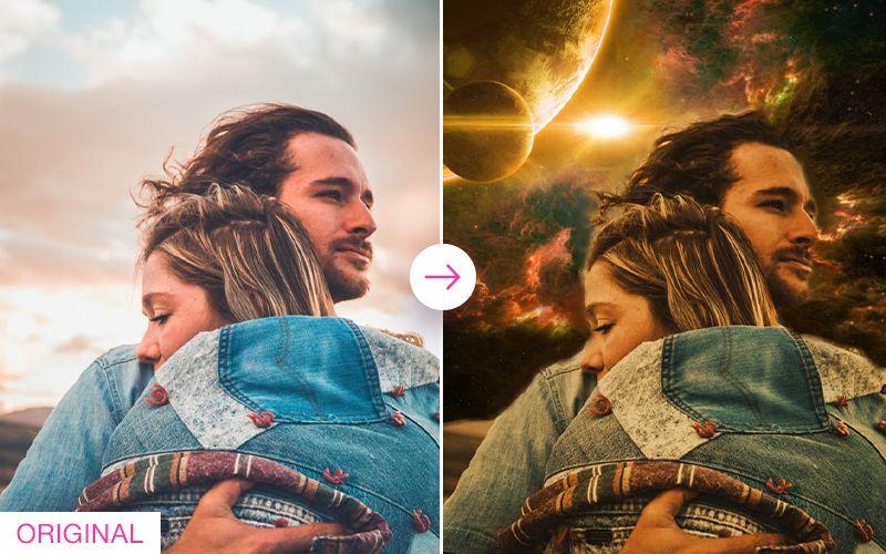 Photo Lab app: effects powered by AI sky segmentation