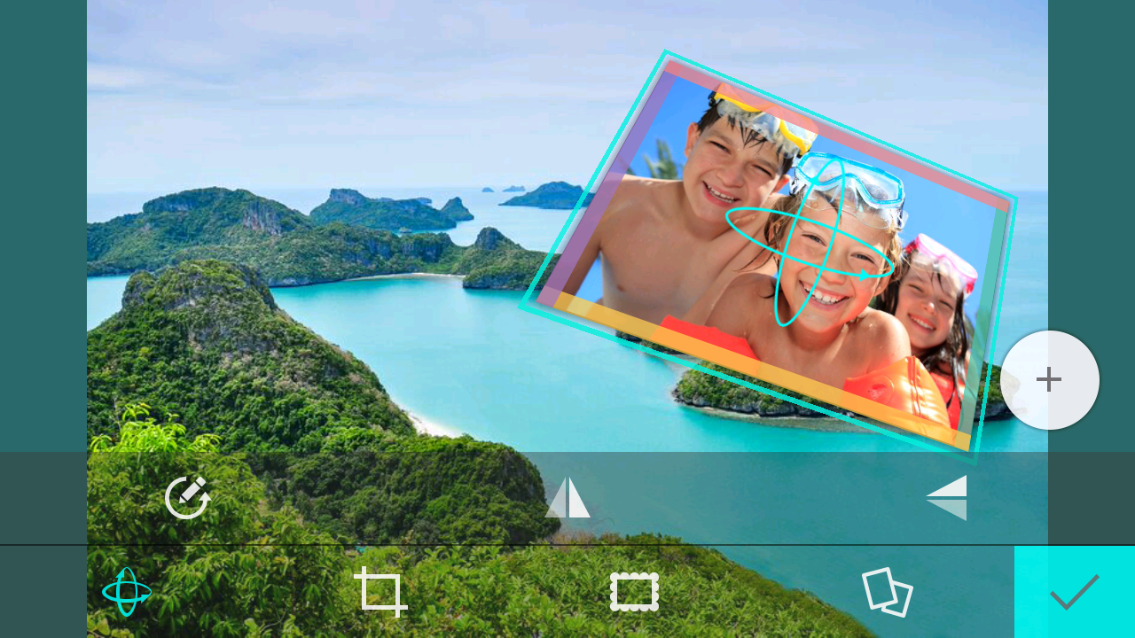 Choosing the best angle and location for a selfie collage