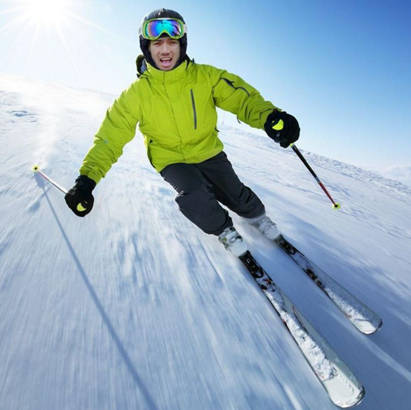Become a skier