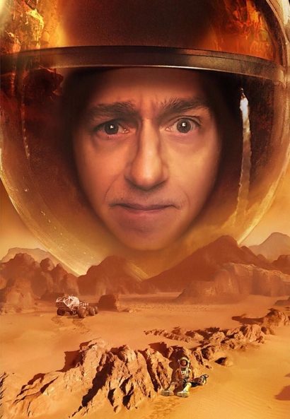 Try on a Martian helmet photo effect