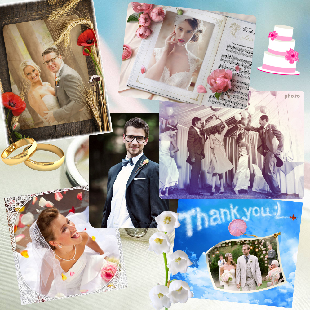 Best photo effect for your wedding photos