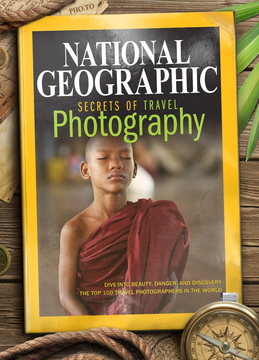 Fake magazine cover of the National Geographic magazine